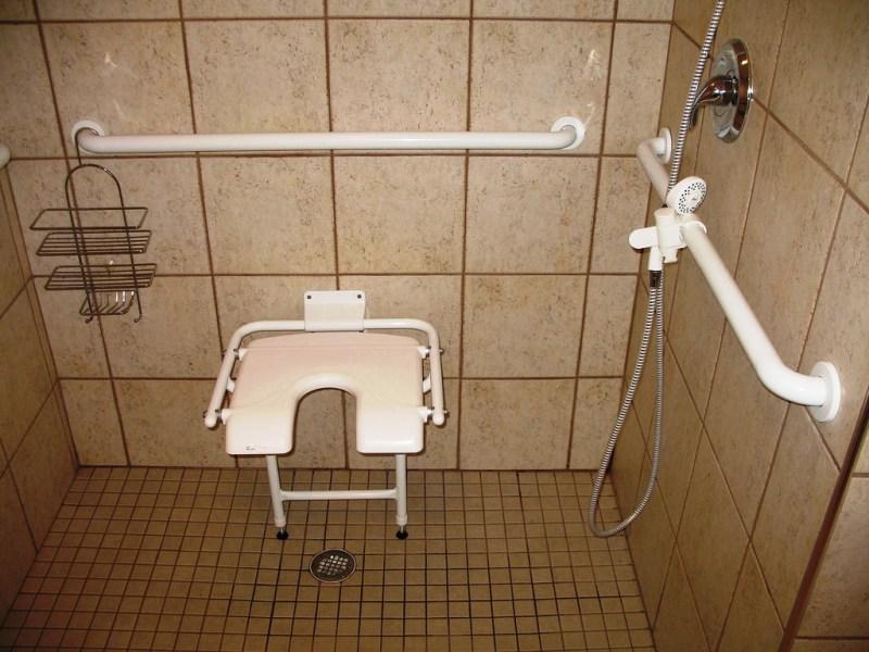 Ada Shower Chair Height