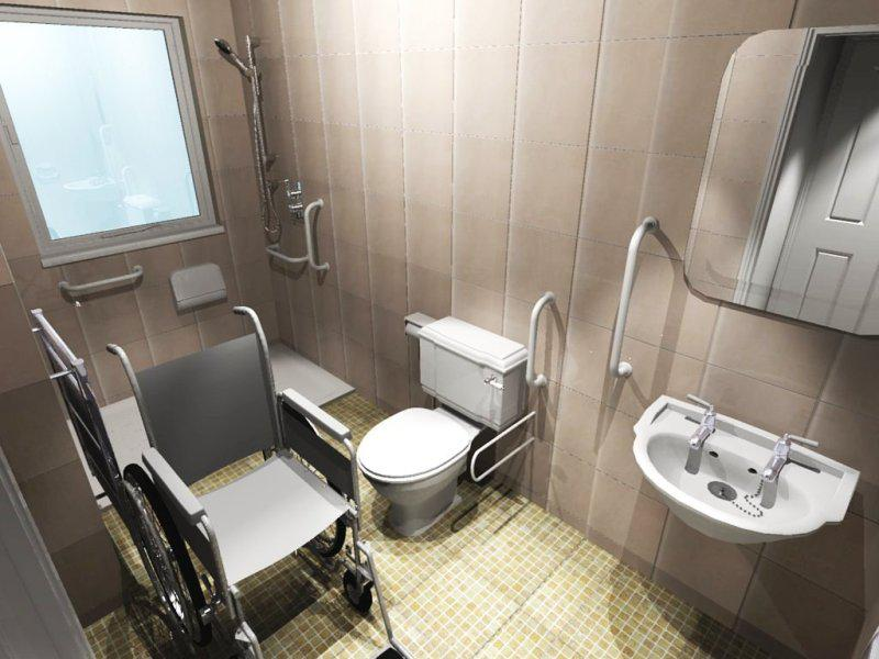 Ada Shower Chair With Wheels