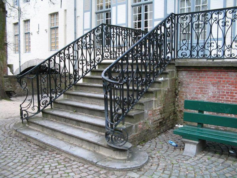 A Metal Exterior Stair Railings Replacement – Madison Art Center on exterior steel stairs, exterior metal spiral stairs, residential exterior metal stairs, aluminum outside railings for stairs, iron hand railings for stairs, outdoor iron railings for stairs, wood handrails for stairs,