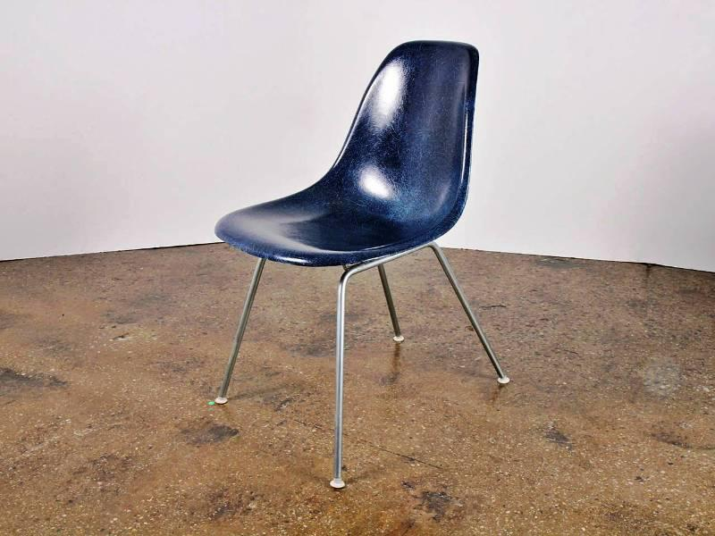 Blue Eames Shell Chair
