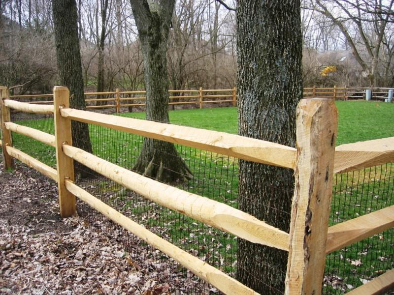Build Split Rail Fence Gate