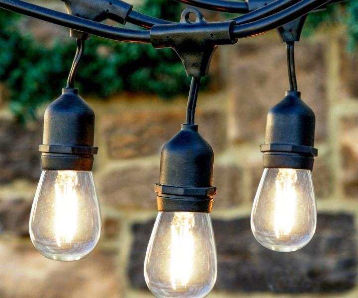 Commercial Backyard String Lights