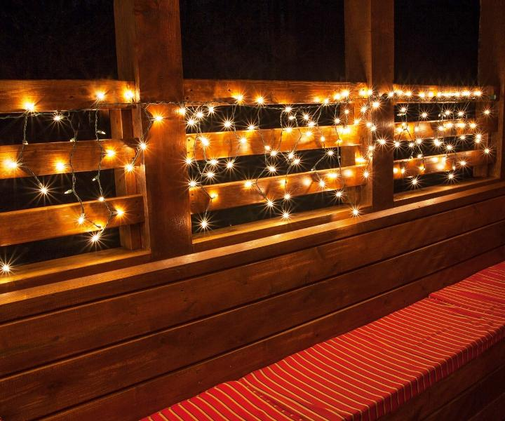 Commercial Outdoor Christmas String Lights