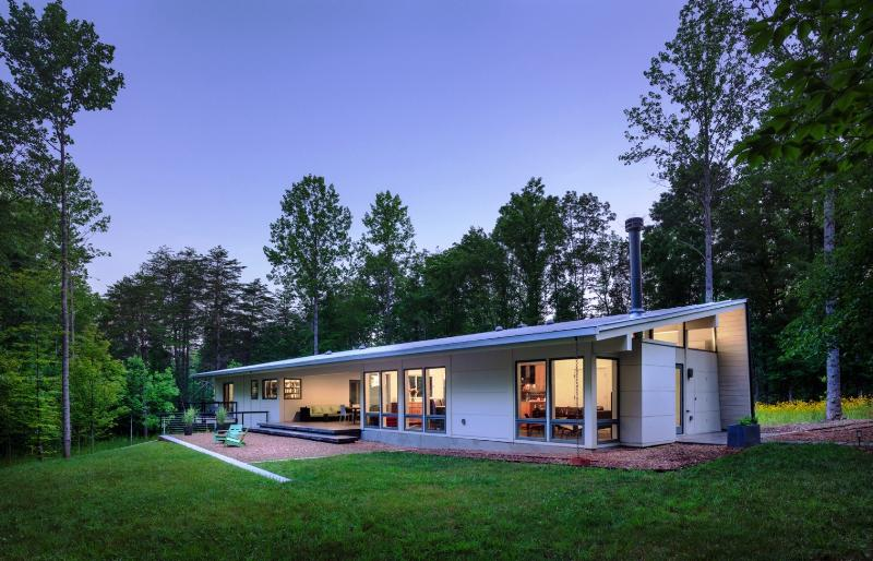 Contemporary Dogtrot House Plans