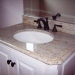 Crema Pearl Granite With Backsplash