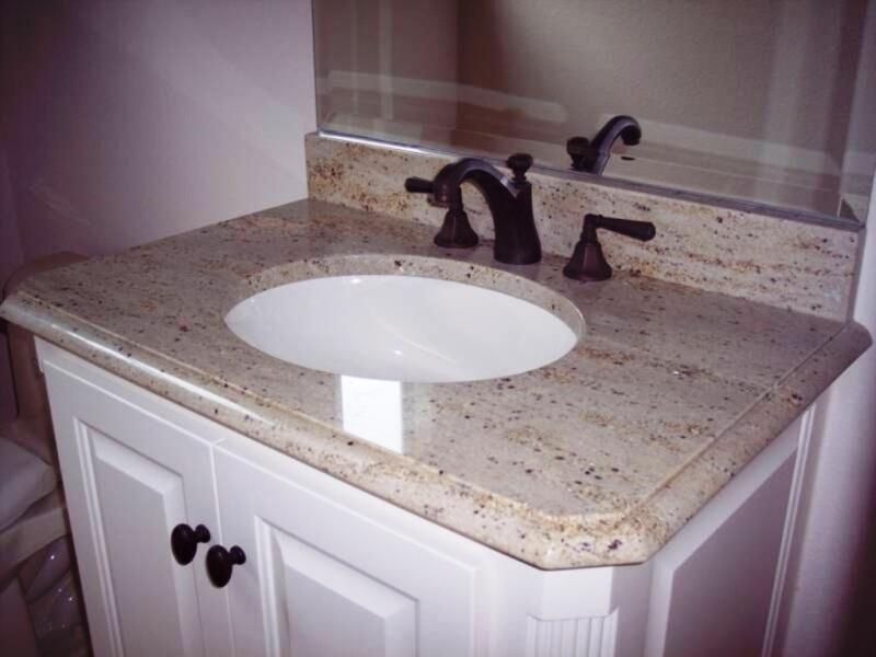 Merveilleux Crema Pearl Granite With Backsplash