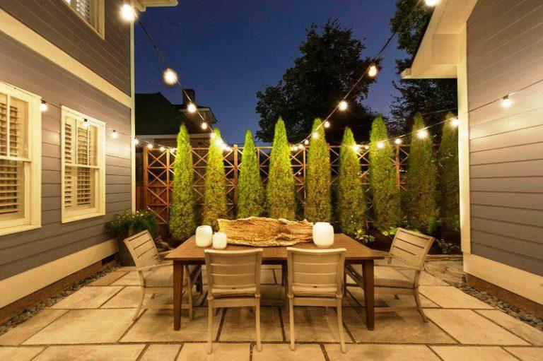 Custom Commercial Outdoor String Lights