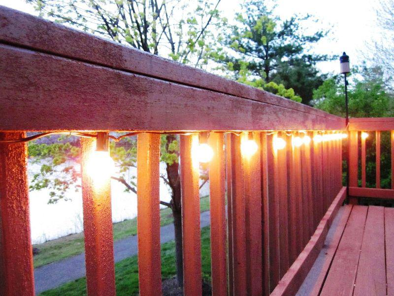 Deck Commercial Outdoor String Lights