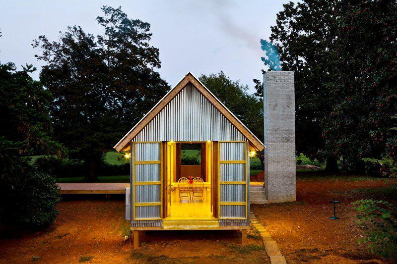 Dogtrot Tiny House Plans