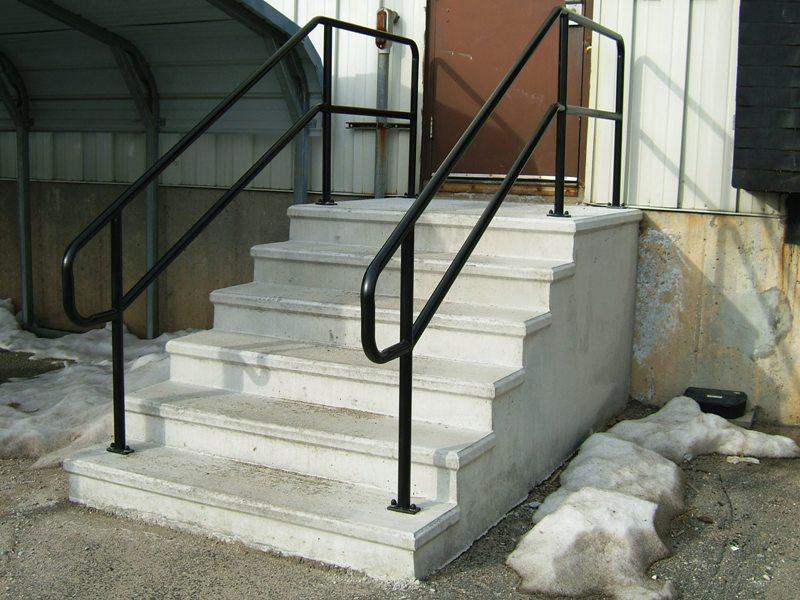 Exterior Stair Railings Aluminum