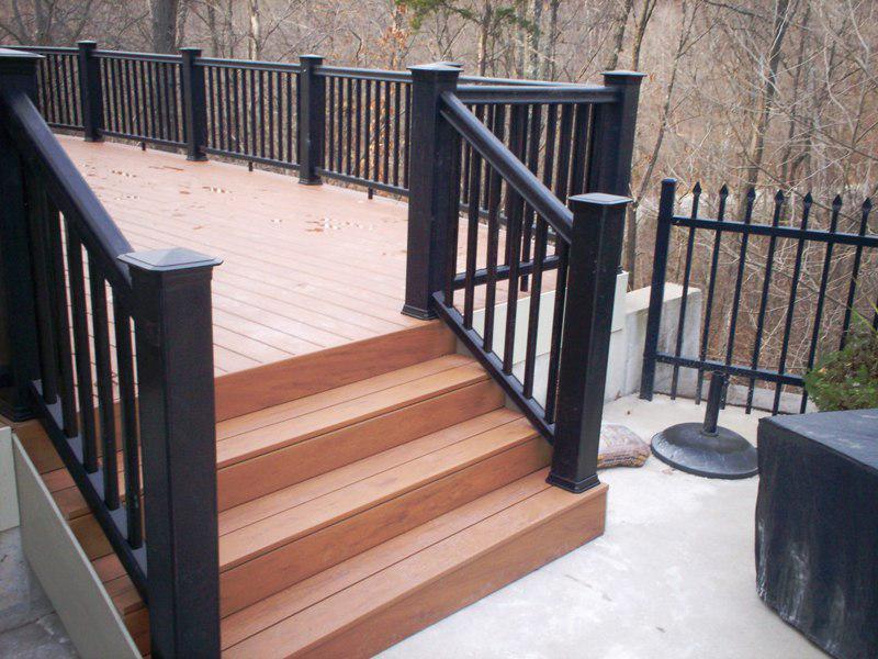 Exterior Stair Railings Attachment