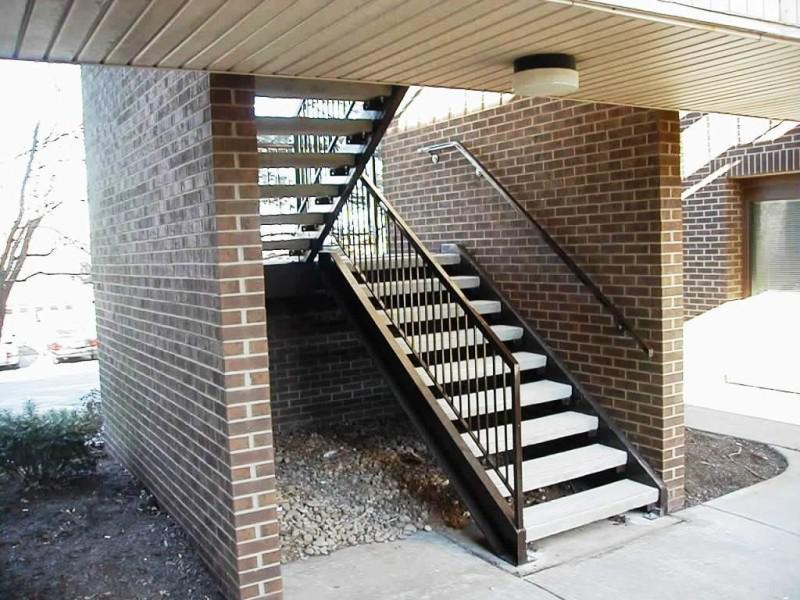 Exterior Stair Railings Building