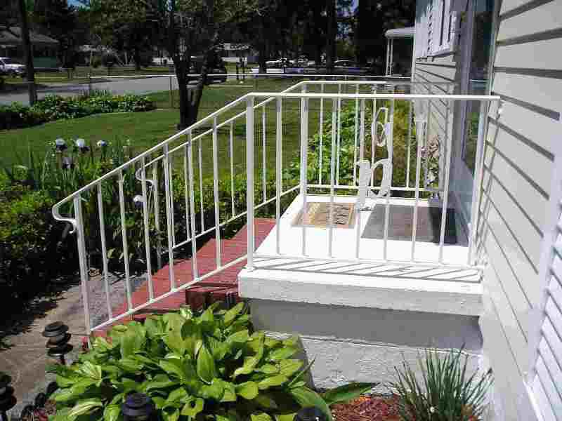 Exterior Stair Railings Connectors
