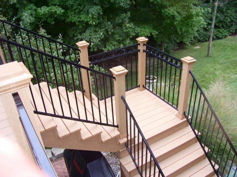 Exterior Stair Railings Height