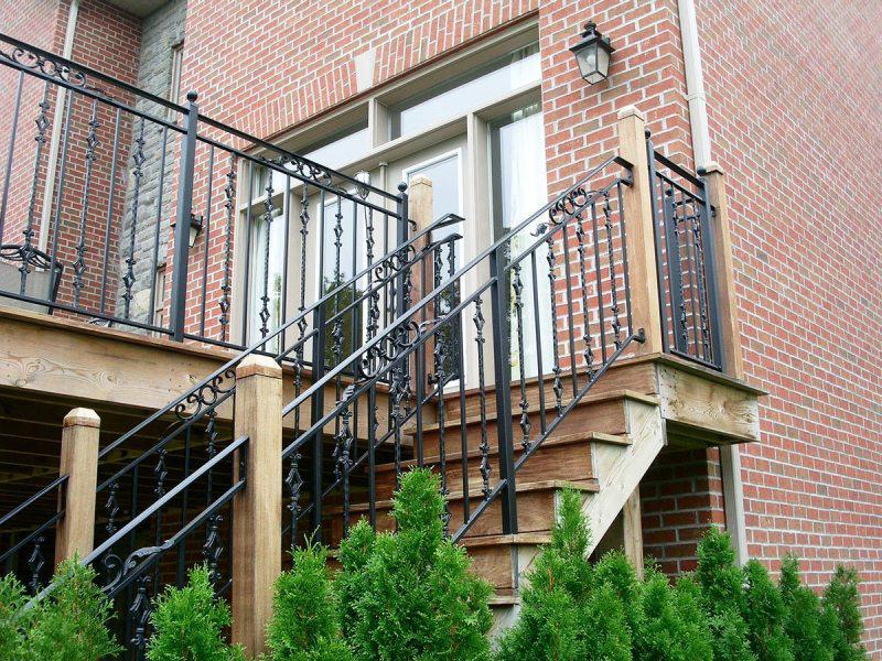 Exterior Stair Railings Ideas