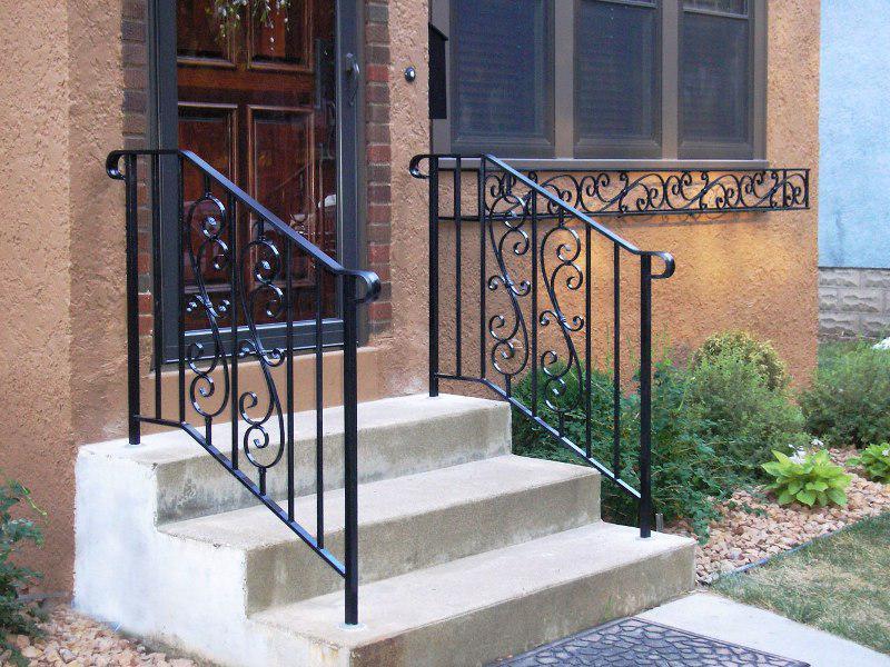 Exterior Stair Railings Metal