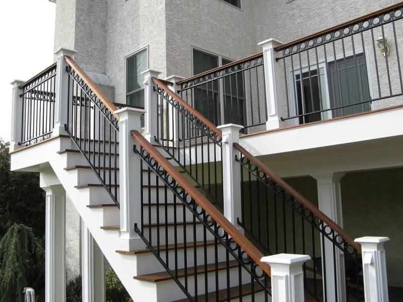 Exterior Stair Railings Wood