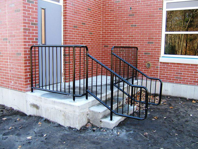 Exterior Stair Railings Wrought Iron