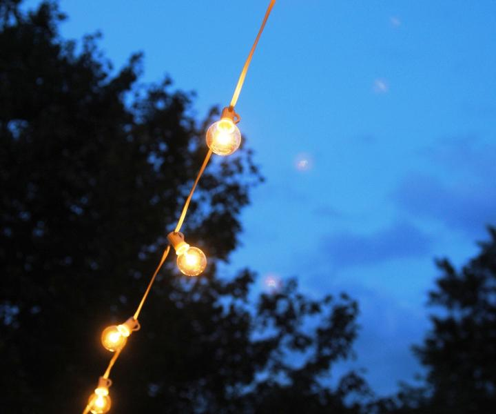 Hanging Commercial Outdoor String Lights