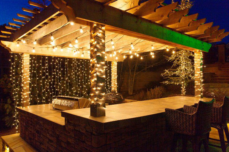 Patio Commercial Outdoor String Lights