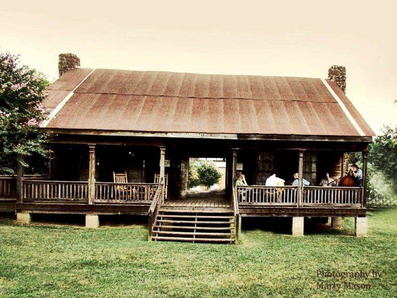 Rustic Dogtrot House Plans
