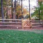 Split Rail Fence Gate Ideas