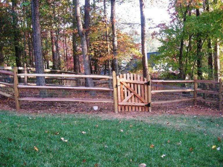 Split Rail Fence Gate Ideas