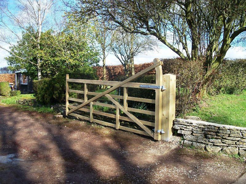 Split Rail Fence Gate Kit
