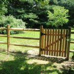 Split Rail Fence Gate Latch