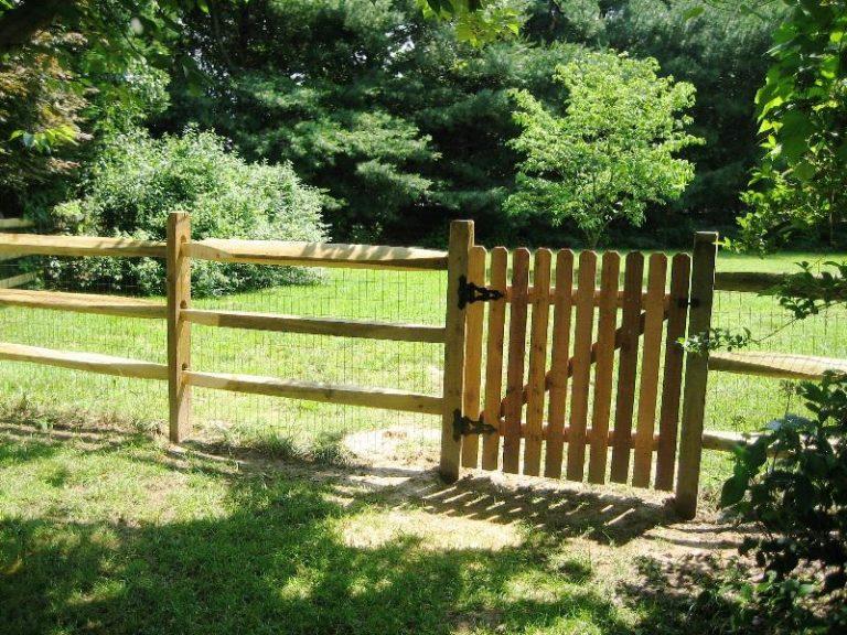Split Rail Fence Gate Latch