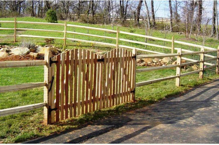 Split Rail Fence Gate Lowes
