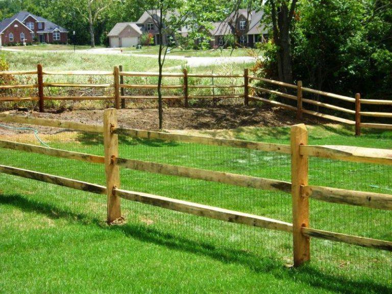 Split Rail Fence Gate Options
