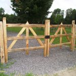 Split Rail Fence Gate Plans