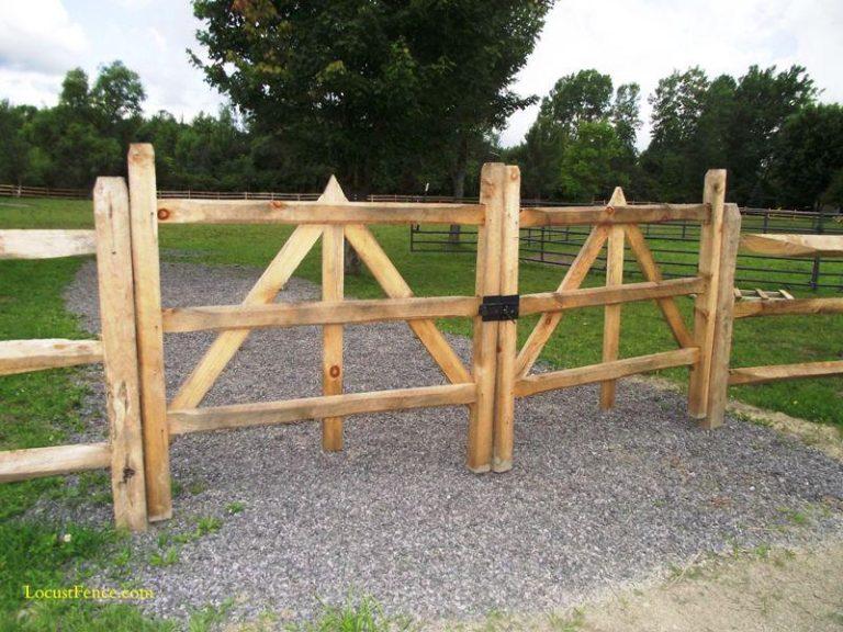 Split Rail Fence Gate Plans