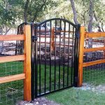 Split Rail Fence Gate Posts