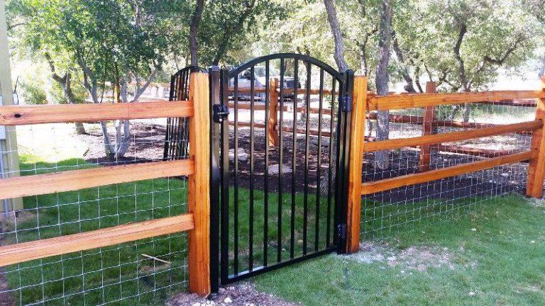 Split Rail Fence Gate Posts