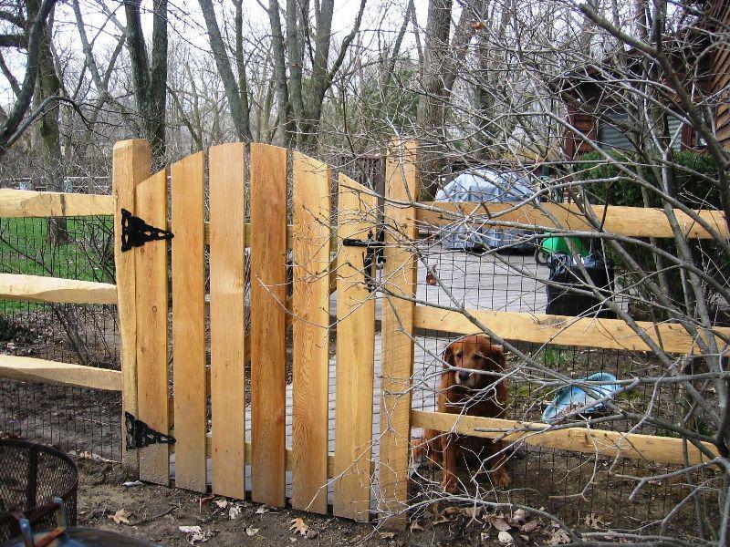 Split Rail Fence Gate Sizes