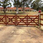 Split Rail Fence Gate Width
