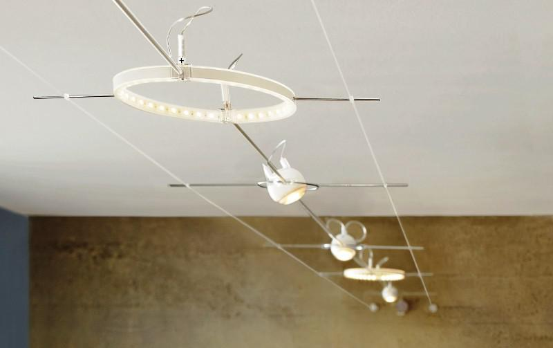 Track Commercial Outdoor String Lights
