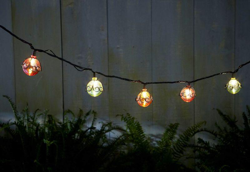 Unique Commercial Outdoor String Lights