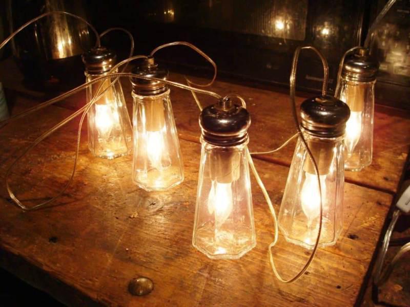 Vintage Commercial Outdoor String Lights