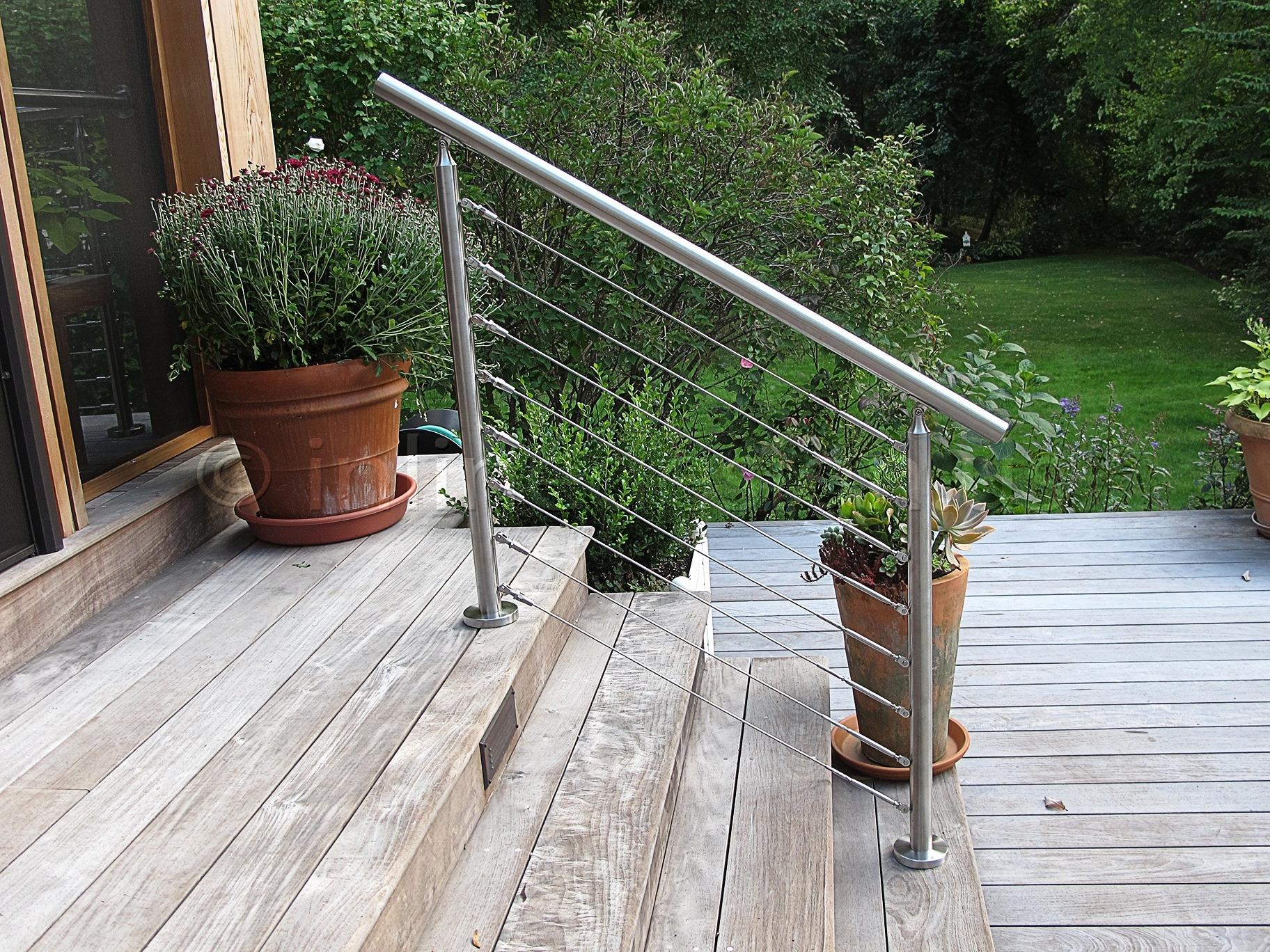 Ark Hardware Cable Railing - Madison Art Center Design