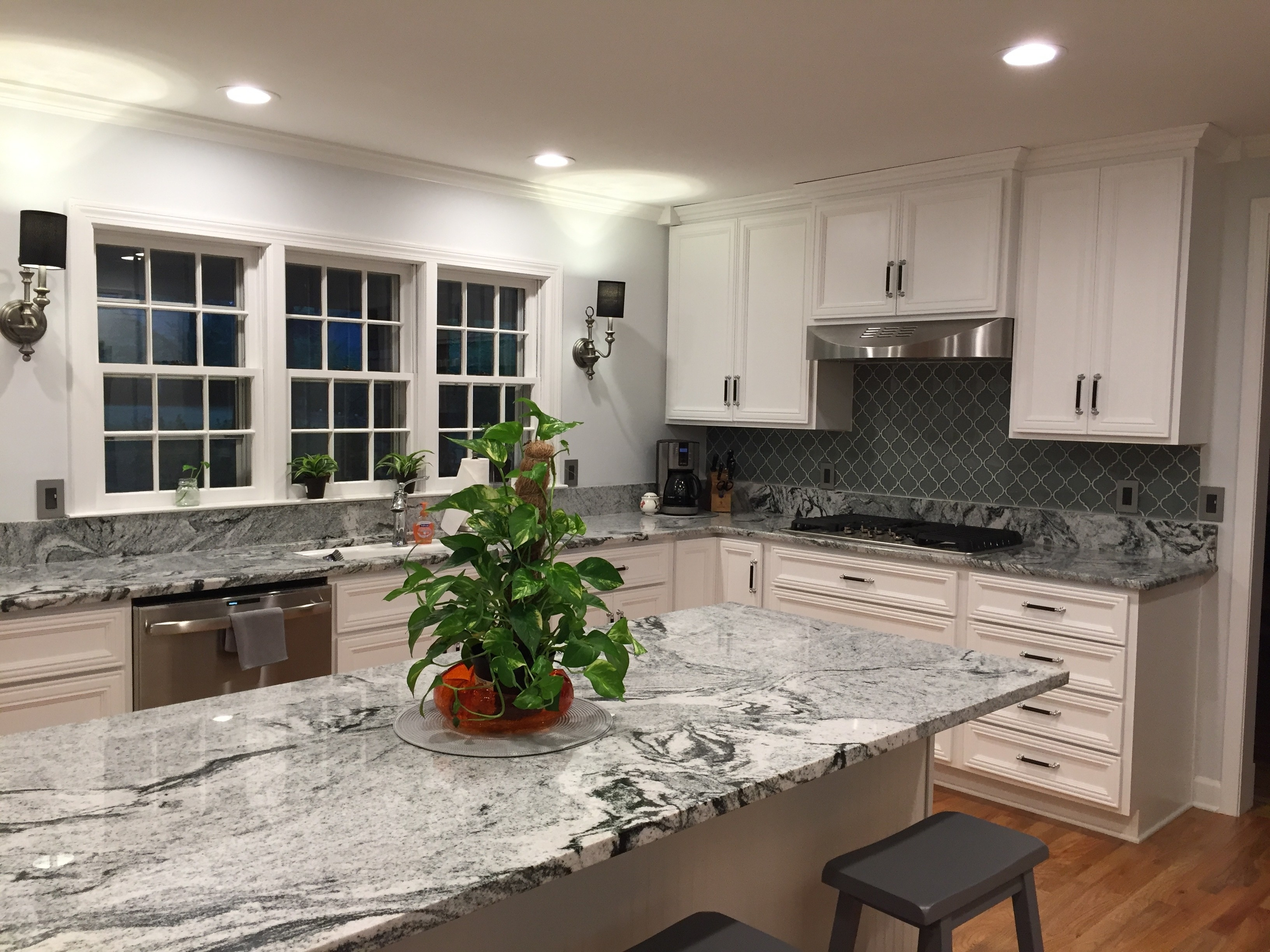 Aspen White Granite Countertops Madison Art Center Design