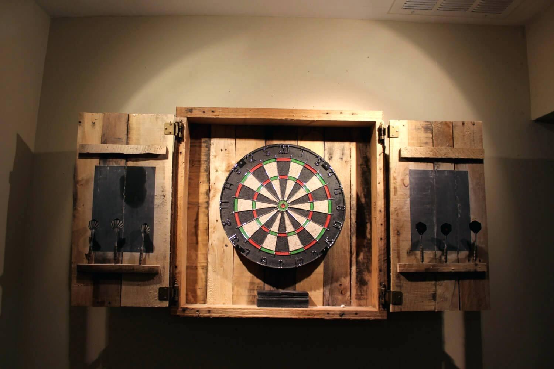 Electronic Dart Board Cabinet Ideas Madison Art Center