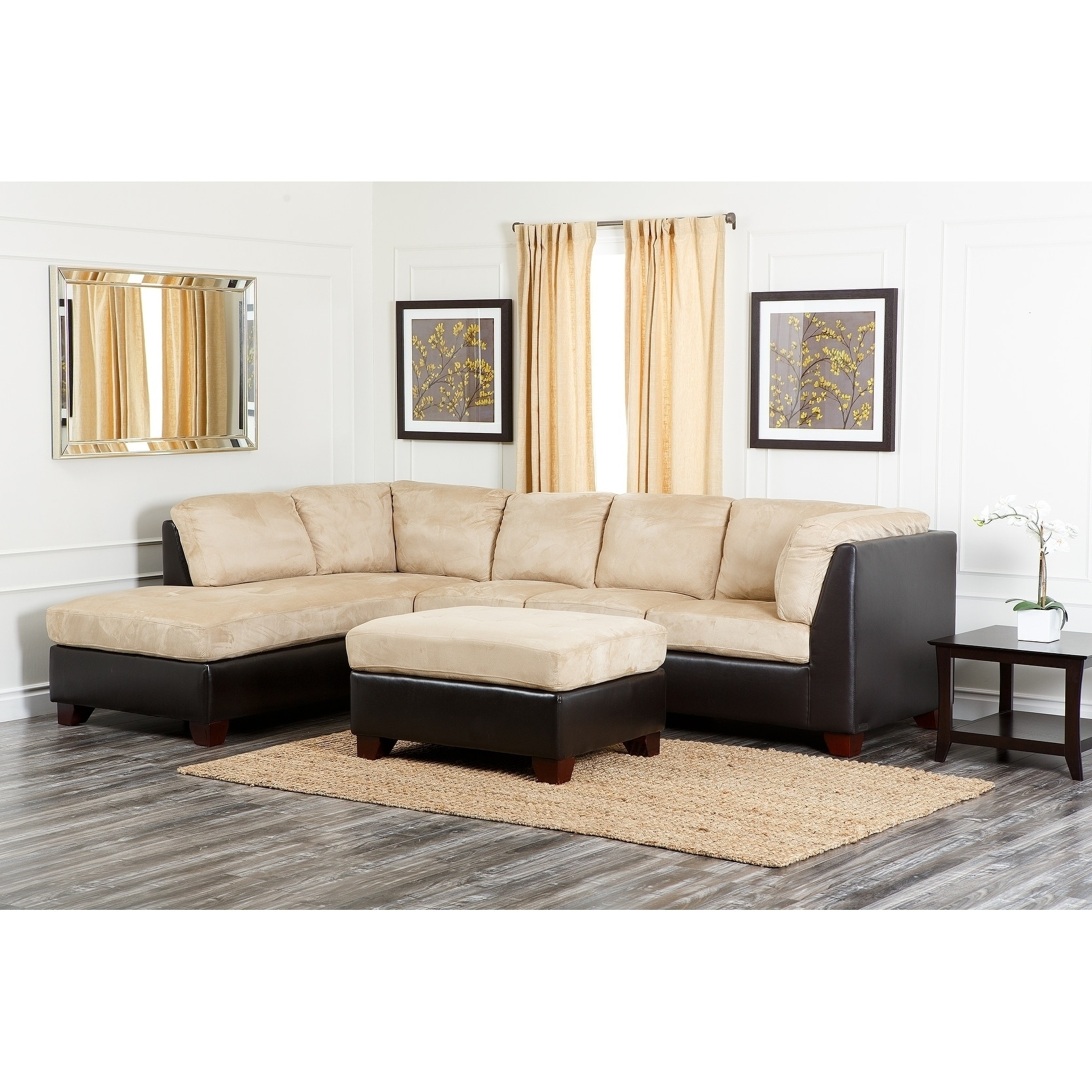 Coffee Table Ideas For Beige Sectional Sofa – Madison Art ...