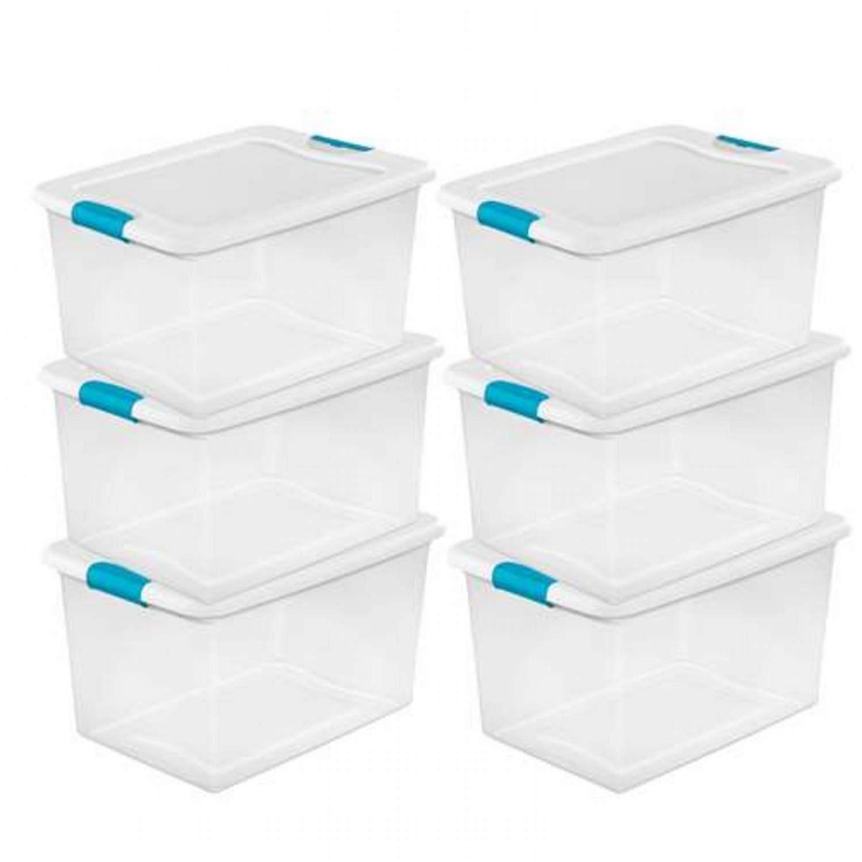 Used Stackable Plastic Storage Bins Madison Art Center
