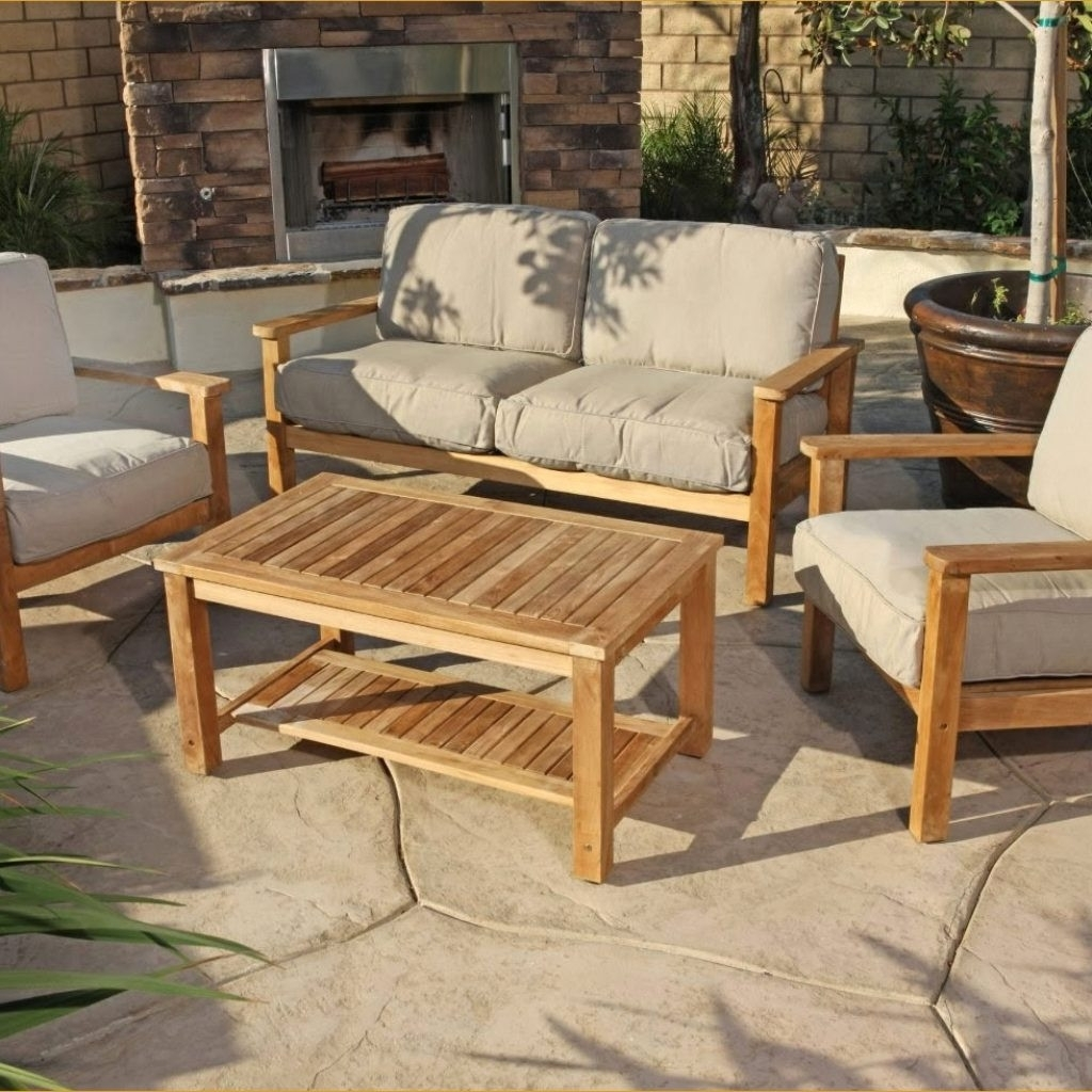 Better Teak Smith And Hawken Outdoor Furniture