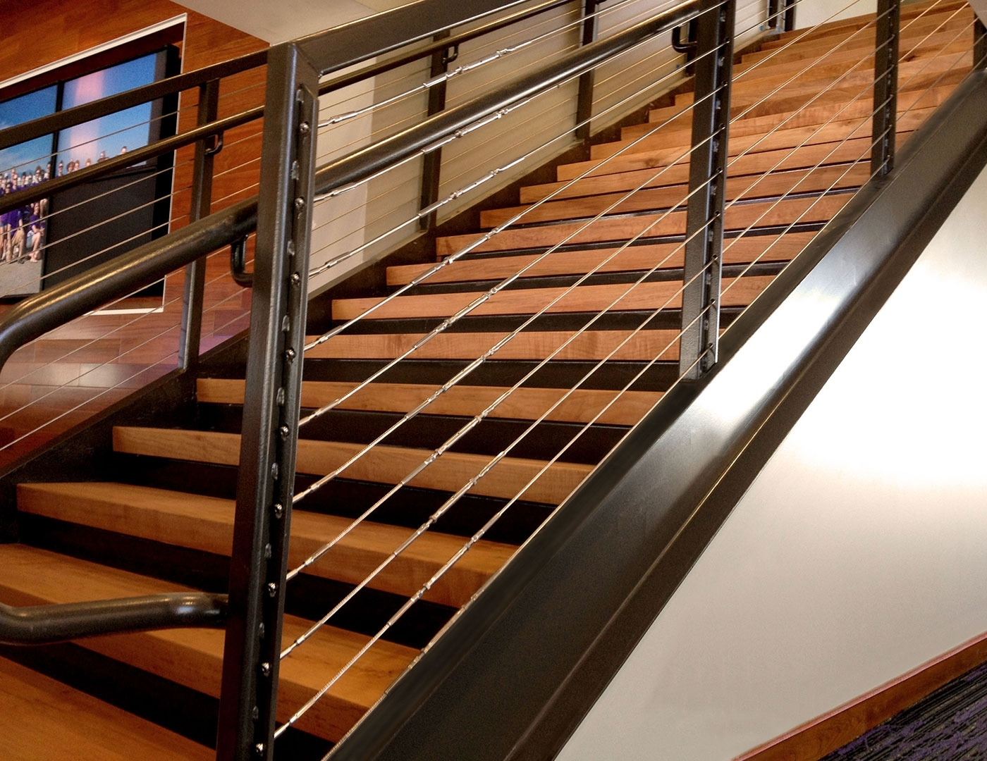 Steps For Cable Railing Hardware - Madison Art Center Design