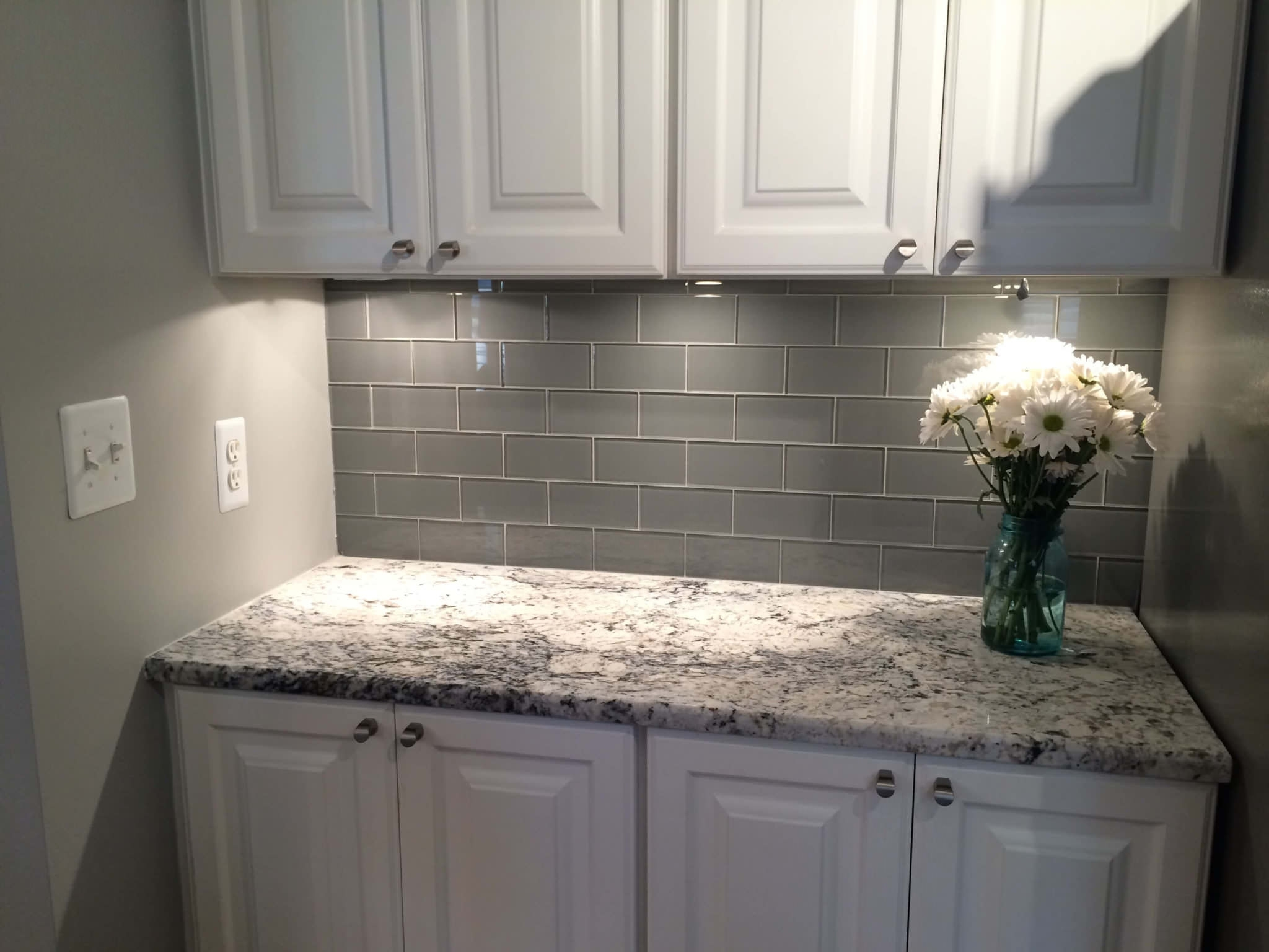 Get Touched By Blue Flower Granite And Countertops Madison Art