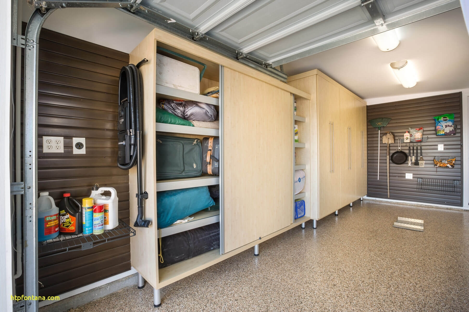 Stupendous Build Garage Storage Cabinet With Sliding Doors Madison Home Interior And Landscaping Spoatsignezvosmurscom